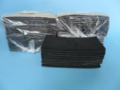 9045B砂光机底板带弹性橡胶垫 有粘层直接贴上 牧田原装正品配件 114*234mm