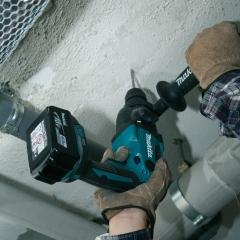 牧田充电式电锤DHR165RME 机身短小操作灵活四坑钻头16mm18V锂电 DHR165RME