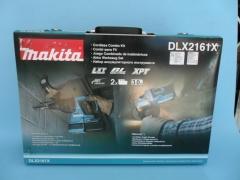 makita牧田 充电电锤 充电角磨机组合箱DLX2161X 双锂电池双机箱 DHR242+DGA4