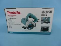 牧田石材切割机M0400B 锯片110mm功率1200W 尤其适合用于直线切割 M0400B