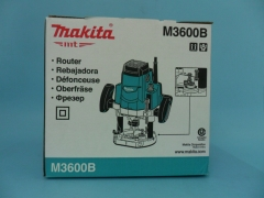 """牧田雕刻机M3600B 1650W强劲功率效率高 1/2寸夹筒原装正品特价售 12mm/1/2"""""""