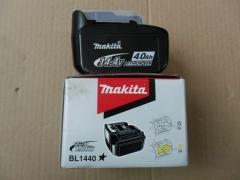 供应牧田原装14.4V 4Ah锂电池BL1440用DC18RC充电器36分钟充满电 14.4V/4.