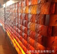 透明水晶砌墙砖 水晶玻璃砖 国外玻璃块砌墙