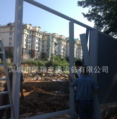 深圳批发供应塑料PVC工程围挡施工建筑PVC围挡 市政施工PVC围挡