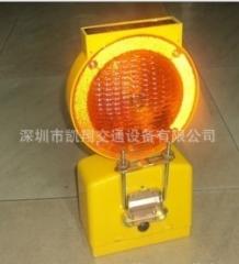 深圳凯翔自开模具生产太阳能路障灯警示灯=交通路障灯出口全球