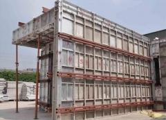 铝合金早拆模系统、铝模板体系应用在墙