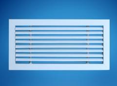 【特别推荐】供应带过滤网 侧出风烤白色漆固定式出风口