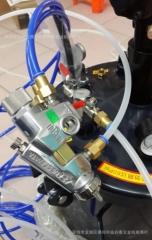 一年保修新款自动搅拌+手动搅拌气动压力桶,涂料压力罐