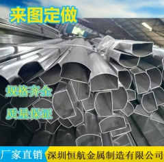 D型异型钢管 D型厚壁异型管 D型薄壁异型管 D型不锈钢 40*40