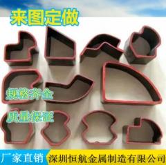 冷拔异型管20#无缝管冷拔异型钢管 多规格异型钢管 可定制 40*40