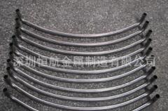 厂家生产门窗用不锈钢弯管 电器不锈钢弯管 台灯用光亮不锈钢弯管