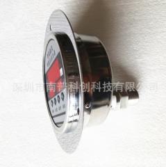 电接点数字压力表NPD100Z 轴向数显压力表 y100工业级压力表