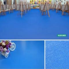 PVC卷材地板 纯色 塑胶地板 幼儿园儿童专用 防滑2.0mm发泡底
