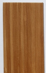 UV表面广州现货 PVC塑胶地板革 深土黄色片材仿木纹防滑pvc地板革