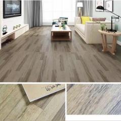 PVC卷材地胶 发泡底卷材PVC地板 塑胶地板仿木纹商用地板 2mm现货