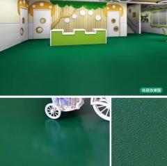 凯立龙纯色pvc塑胶地板 2.0mm儿童地板地板 发泡底卷材地板批发