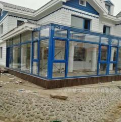 阳光房钢化玻璃钢结构 2-9
