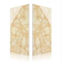 黄龙玉微晶石电视背景墙瓷砖600*1200大规格地砖大厅墙砖微晶砖