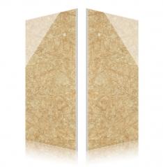 雅典米黄微晶石电视背景墙瓷砖600*1200客厅亮面地砖干挂厂家特价