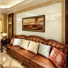 6001200电视背景墙瓷砖价格表800x800客厅地砖超晶石墙砖鹅毛金
