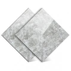 北欧工业风格灰色通体大理石瓷砖800x800客厅地砖电视背景墙瓷砖