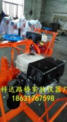 HZ-20型汽油动力钻孔取芯机 汽油动力公路路面钻孔取芯机 本田5.5马力