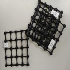 供应批发双向塑料土工格栅 边坡防护用双向塑料土工格栅 量大优惠