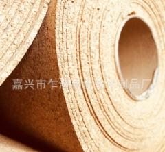 1MM软木纸地板垫地垫隔音垫防潮纸地热地暖幼儿园软木板卷材