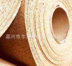 优质2MM软木纸地板垫地垫隔音垫防潮纸地热地暖幼儿园软木板卷材