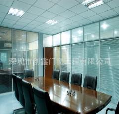 高隔断图片 深圳办公隔间 成品高隔墙 规格定制