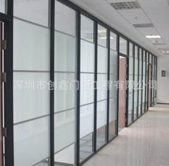 生产塑钢高隔断 制造塑钢隔断墙 尺寸定制