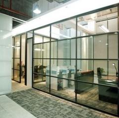 定制多款隔断 系列时尚美观办公隔间 工厂密封隔音高隔墙 规格定制