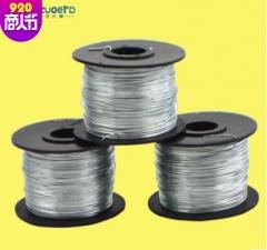 批发全自动钢筋捆扎丝 铁丝捆绑机丝圈 110m铁丝圈