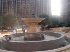 杭州莱斯特厂家直销基础建材艺术手工雕刻环保爆款砂岩雕塑大型喷
