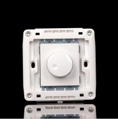 美尚V6雅白 86型暗装电子调光开关面板调光器 可调整灯光亮度大小