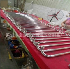 厂家供应 不锈钢拉手 金属把手 别墅大门五金配件样式尺寸可定制 1-9