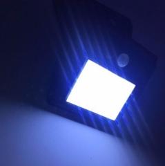 家用太阳能20LED人体感应壁灯户外庭院灯墙壁灯路灯感应灯亚马逊