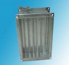 镀锌板对开多叶调节阀报价,镀锌板铆接风阀商家
