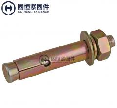 国标建筑膨胀螺丝 镀锌膨胀螺栓 超长拉爆螺丝 爆炸螺丝 M6*50