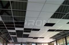 矿棉板吊顶龙骨 铝合金烤漆龙骨 25x21x0.55