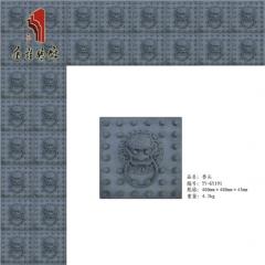 唐语长期供应 古建砖雕装饰挂件 门头装饰 典雅兽头|TY-GY191