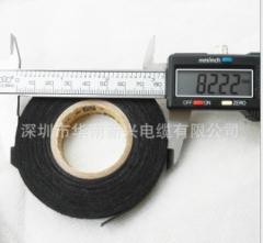 永乐绒布胶带 汽车线束胶带绒布胶带 电工绝缘胶布 植绒布胶布 16MM15M