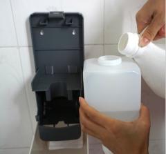 1000毫升酒店浴室专用洗发沐浴盒 手动泡沫皂液器洗手机 壁挂式