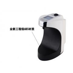 瑞沃V-480D带DC插座液晶屏自动感应皂液器餐厅洗手间喷雾洗手器 黑色滴液