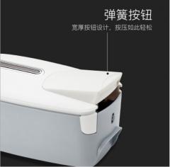 瑞沃手动皂液器 PL-151051壁挂式皂液瓶 酒店家用厨房洗手给皂器 白色