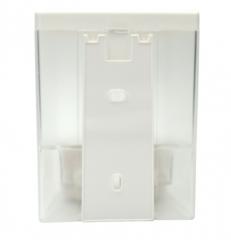 瑞沃V-4401壁挂式手动皂液器酒店宾馆沐浴露盒卫洗手液瓶双头皂液 白色