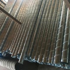 螺旋通风管白铁皮共板排风管不锈钢油烟管烟窗通风镀锌管批发定做
