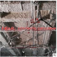 【坤耐正品】ktv商场酒店吊顶吸声降噪无机纤维喷涂棉3cm/5cm施工 20kg/包(喷涂原料)