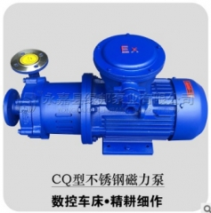 CQ型不锈钢磁力泵 CQ防爆磁力泵 无泄漏 化工磁力泵 20CQ-12