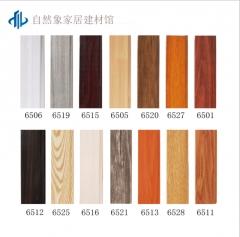 木塑踢脚线厂家直销防火无毒地脚线木地板用pvc线条量大价优